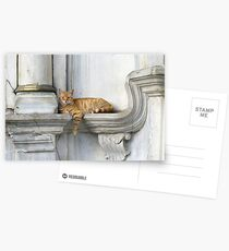 Relaxing on marble (Eyüp) Postcards