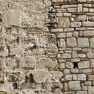 Wall repairs in Yedikule Hisarı (Yedikule Fortress) by Marjolein Katsma