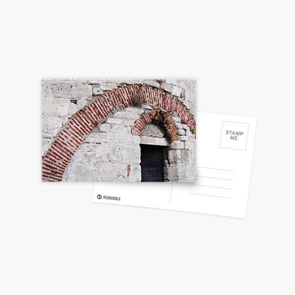Brick arches in Yedikule Hisarı (Yedikule Fortress) Postcard