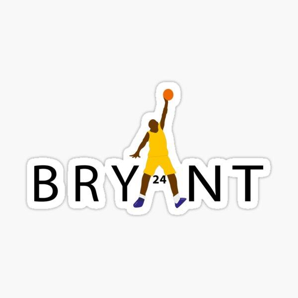 Kobe Bryant Fadeaway T-shirt  Kobe Memory Tshirt  Sticker