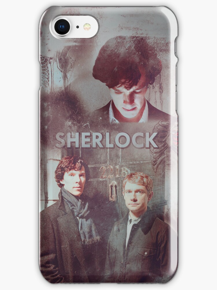BBC Sherlock IPhone Case by curiousfashion