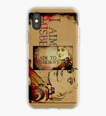 Starbuck so would have been a Browncoat iPhone Case