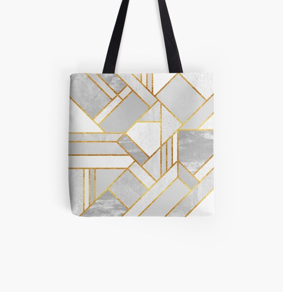 Gold City All Over Print Tote Bag