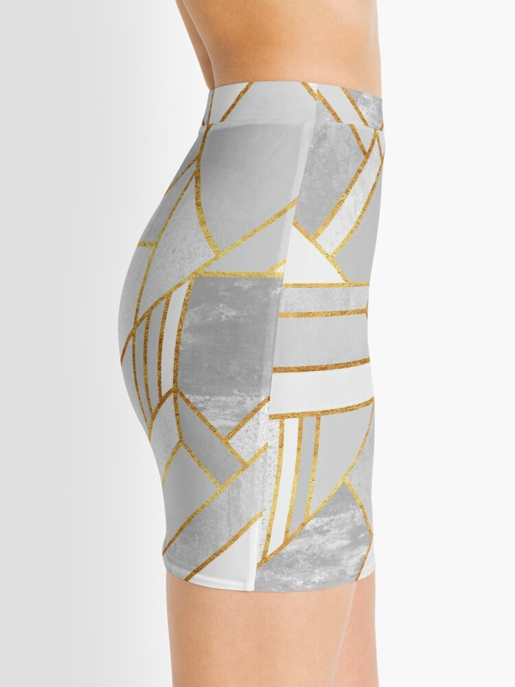 Alternate view of Gold City Mini Skirt