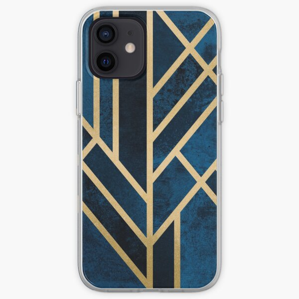 Art Deco Midnight iPhone Soft Case