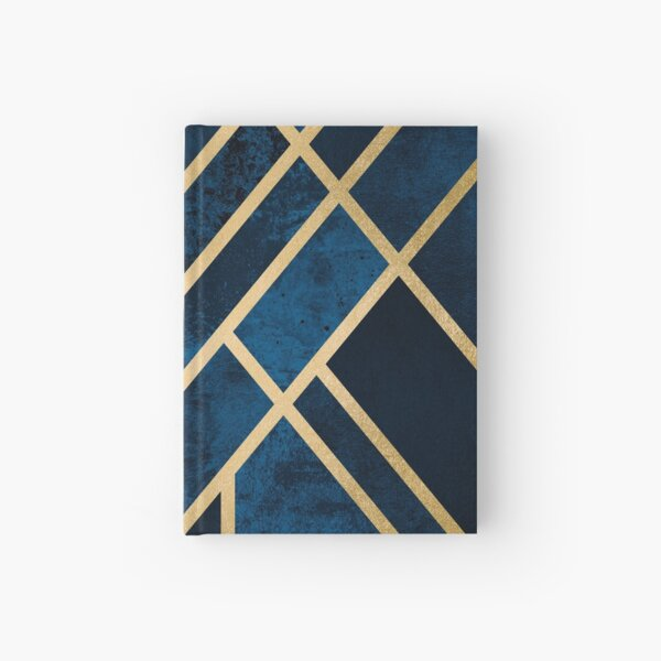 Art Deco Midnight Hardcover Journal