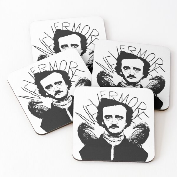 Nevermore Coasters (Set of 4)