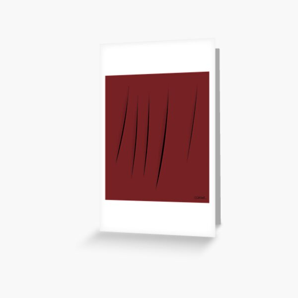 Cuts Greeting Card