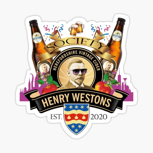 Henry Weston Society Est. 2020 Sticker