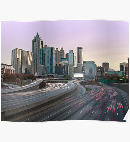 Downtown Atlanta Poster