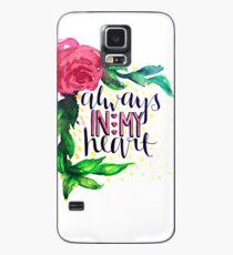 Toujours dans mon coeur Coque et skin Samsung Galaxy