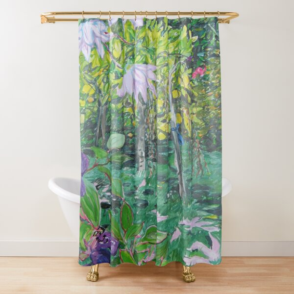 Margaret's garden Shower Curtain