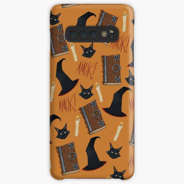 Just a Bunch of Hocus Pocus (Orange) Samsung Galaxy Snap Case