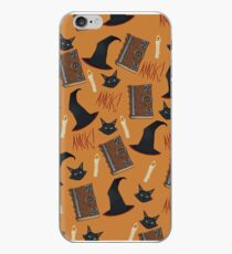 Just a Bunch of Hocus Pocus (Orange) iPhone Case