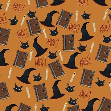 Just a Bunch of Hocus Pocus (Orange) by Tally-Todd
