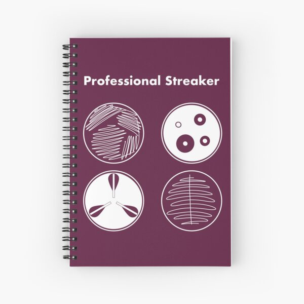 Professional Streaker Spiral Notebook