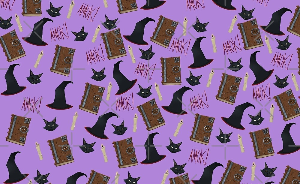 Just a Bunch of Hocus Pocus (Purple) by Tally Todd