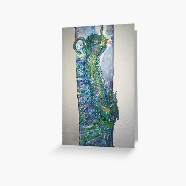 Tarry the Water Dragon Greeting Card