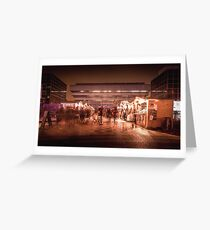 Birmingham German Market at Christmas Greeting Card
