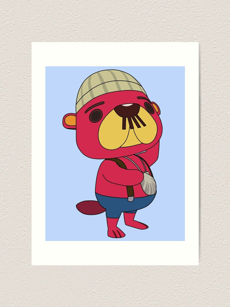 Pascal Animal Crossing Art Print By Amandawagner Redbubble