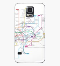 Singapore Metro Case/Skin for Samsung Galaxy