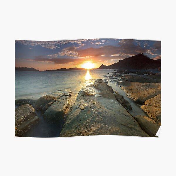 Sisiman Bay Sunset  Poster