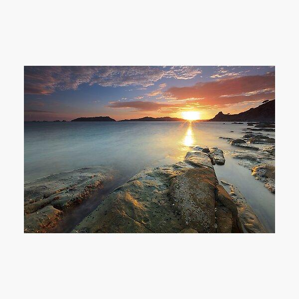 Sisiman Bay Sunset Photographic Print