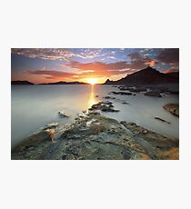 Sisiman Bay Sunset Photographic Print