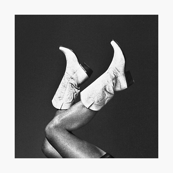 These Boots - Noir Photographic Print