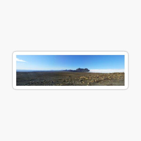 Glacier View Sticker