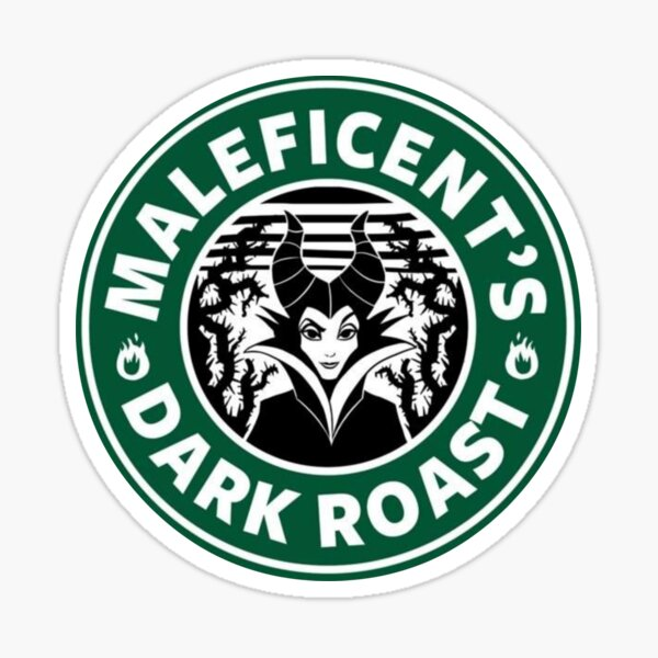 Maleficient's dark roast Sticker