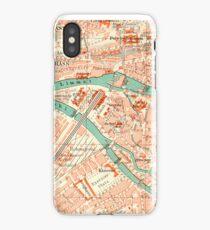 Zurich Vintage Map iPhone Case iPhone Case