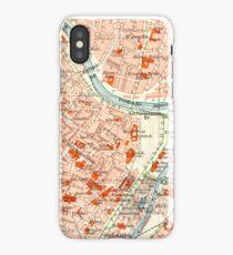 Vienna Vintage Map iPhone Case iPhone Case