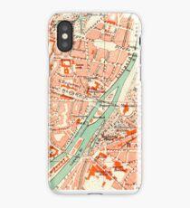 Munich Vintage Map iPhone Case iPhone Case