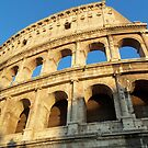 The Colosseum in Rome, Italy by Jekusha