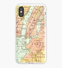 New York Vintage Map iPhone Case iPhone Case