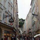 Walking through the streets of Salzburg, Austria by Jekusha
