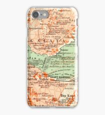 Istanbul Vintage Map iPhone Case iPhone Case/Skin