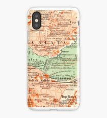 Istanbul Vintage Map iPhone Case iPhone Case
