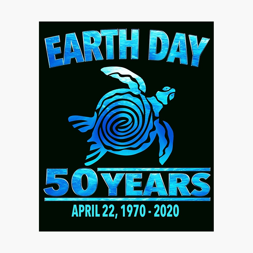 Happy Earth Day 50th Anniversary - Earth Day 2020 50 Years ...