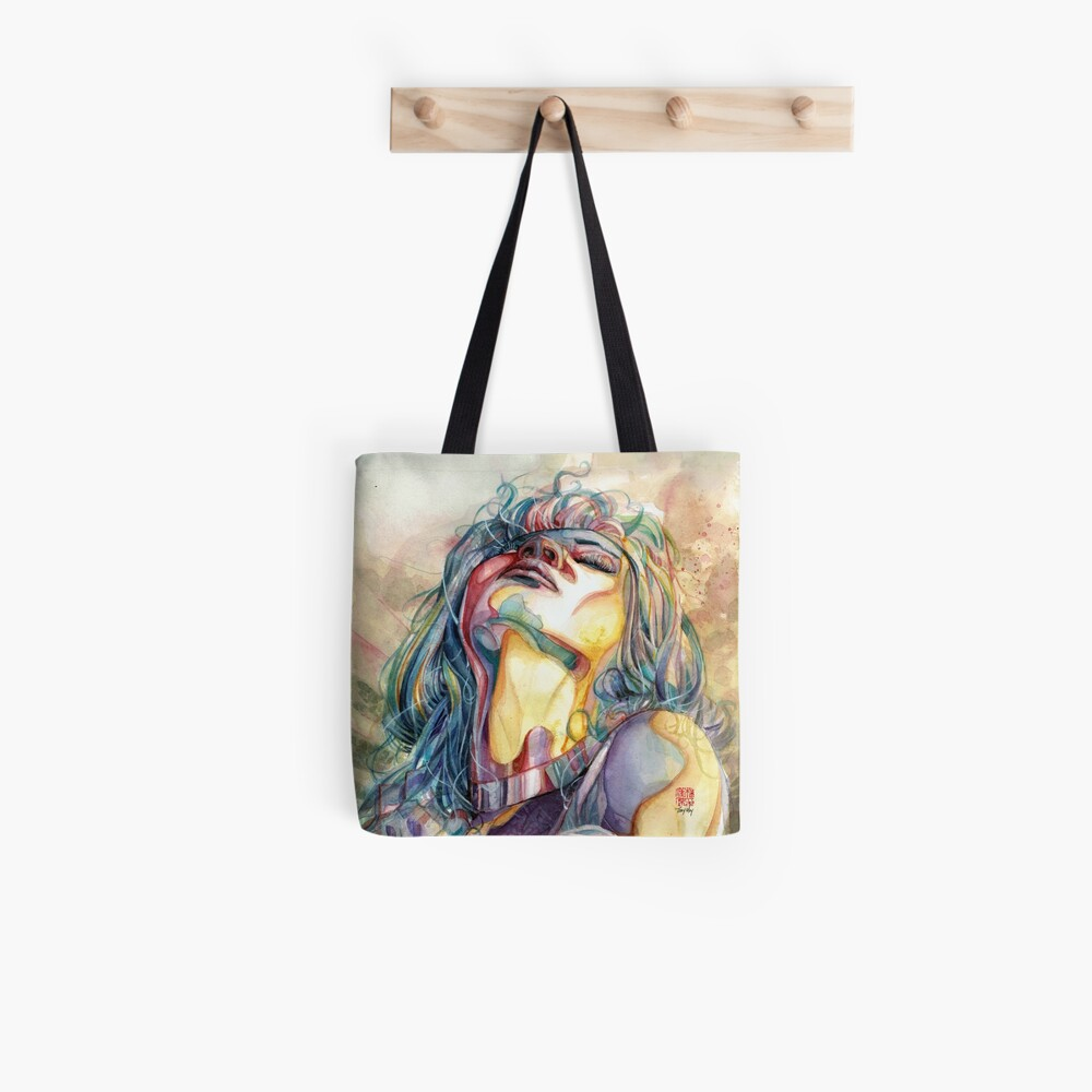 Eternal Moment - Watercolor Art by Tony Moy Tote Bag