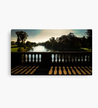 Bridging the Thames Canvas Print