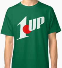 1up mixed up with 7up (mario NES) Classic T-Shirt