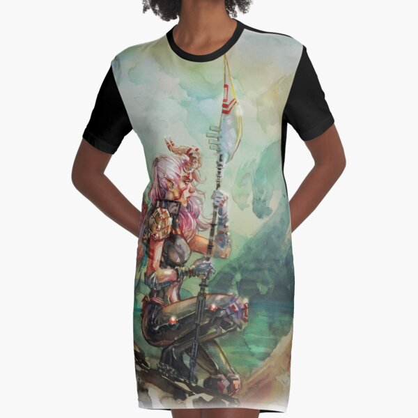 Angel's Quest - Watercolor Art by Tony Moy Graphic T-Shirt Dress
