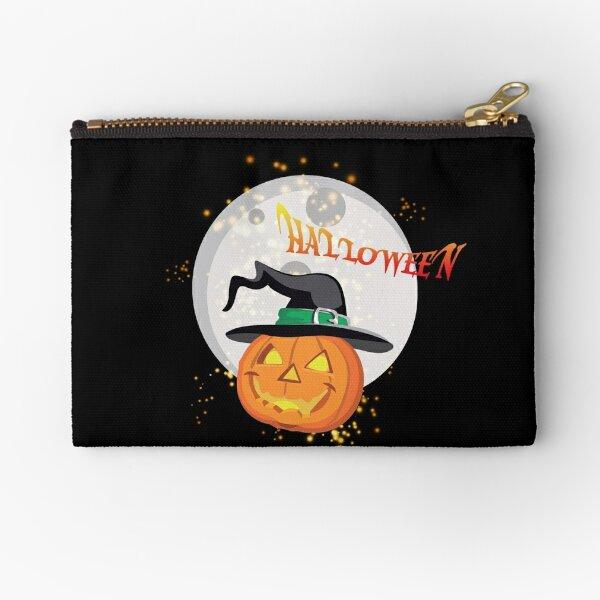 Halloween's pumpkin Zipper Pouch