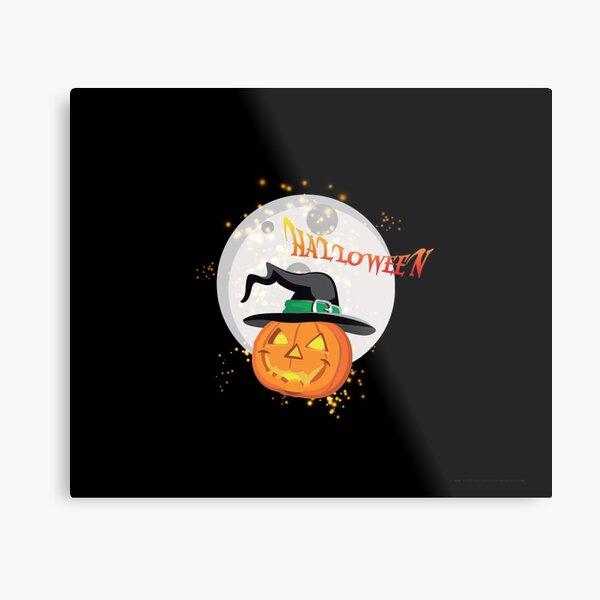 Halloween's pumpkin Metal Print