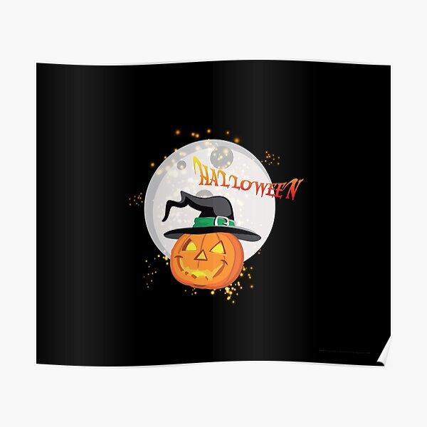 Halloween's pumpkin Poster