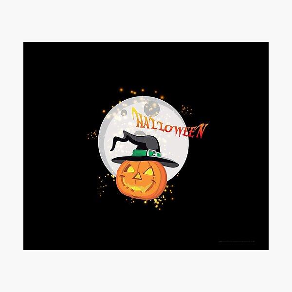 Halloween's pumpkin Photographic Print