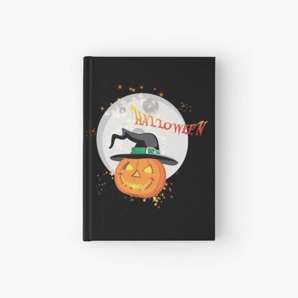 Halloween's pumpkin Hardcover Journal