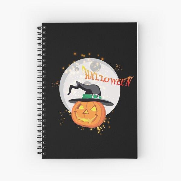 Halloween's pumpkin Spiral Notebook